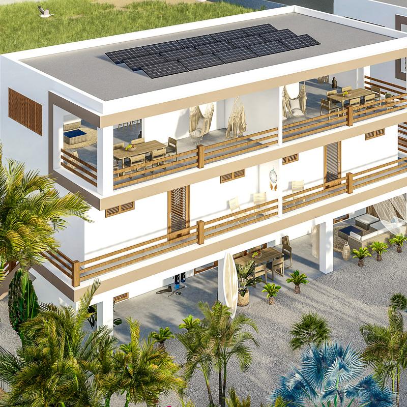 Isla penthouse & garden apartments